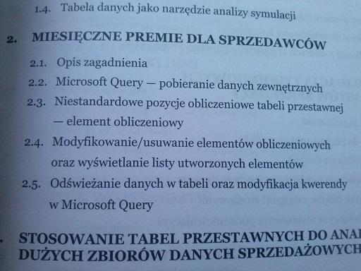 """""""Zastosowanie Excela.."""" Wojciech Próchnicki"""