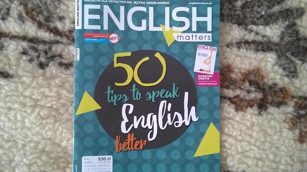 Jak nauczyć się angielskiego? English matters