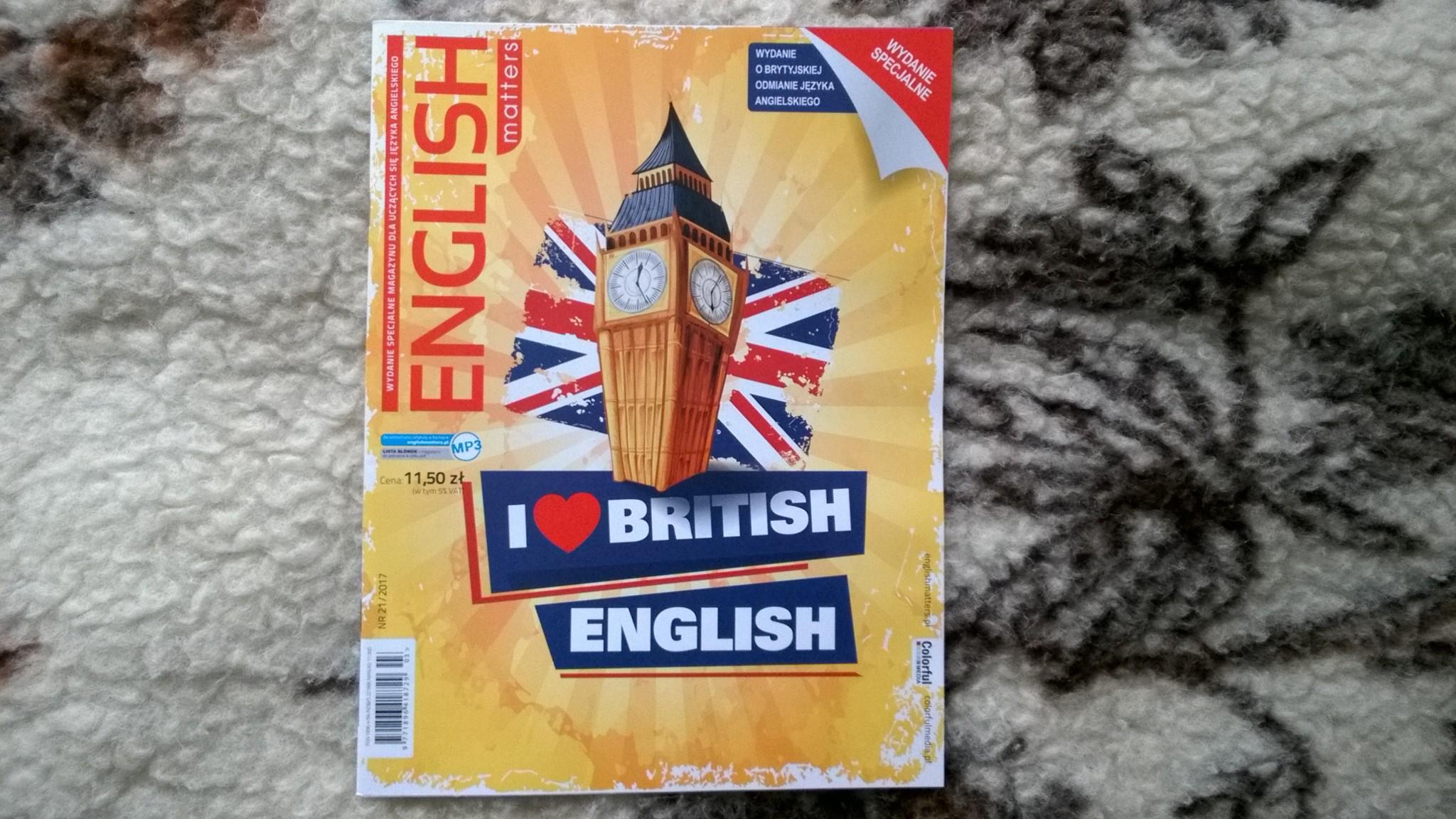 Brytyjska odmiana angielskiego