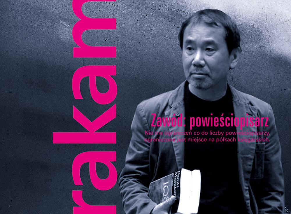 Haruki Murakami zawód powieściopisarz