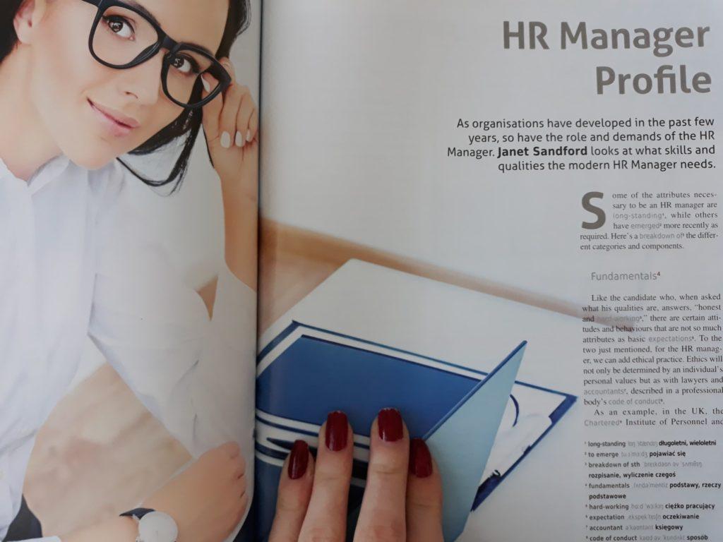 Profil HR managera